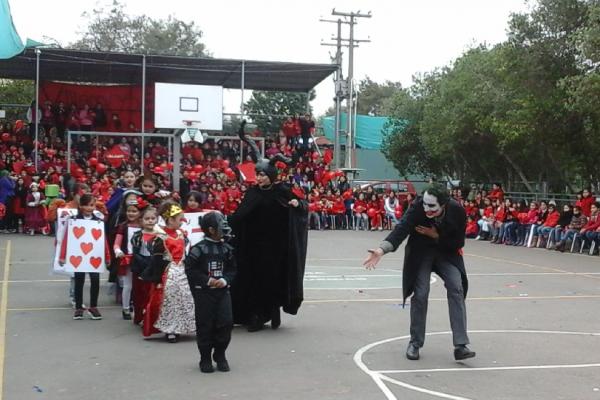 Festa con le piccole delle elementari