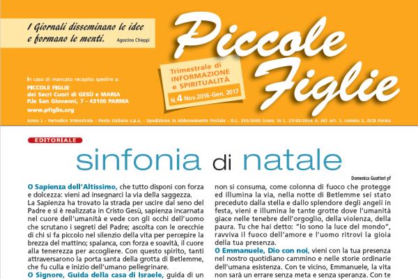 Giornalino Piccole Figlie no. 2016-gen. 2017